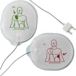 Ηλεκτρόδια ενηλίκων για απινιδωτή Telefunken HR1/FA1