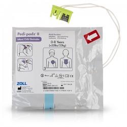 Ηλεκτρόδια Απινιδωτή ZOLL AED Plus- PAEDIATRIC PEDI PADZ (παιδιατρικά)