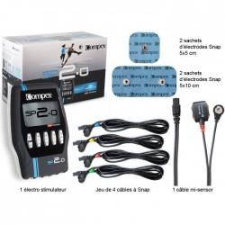 Συσκευή ηλεκτροδιέγερσης Compex SP 2.0